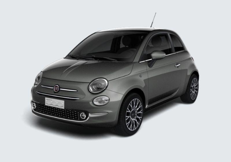 FIAT 500 1.2 Star Grigio Colosseo Km 0 K50B35K-39340_esterno_lato_1
