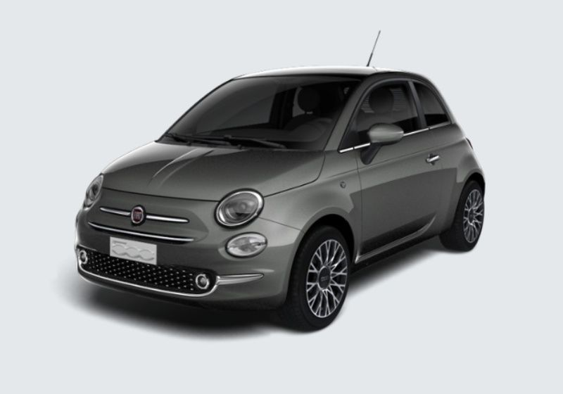 FIAT 500 1.2 Star Grigio Pompei Km 0 K50B35K-39340_esterno_lato_1