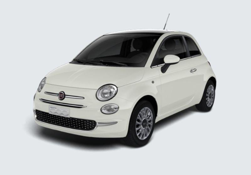 FIAT 500 1.3 Multijet 95 CV Lounge Bianco Gelato Km 0 ADX0XDA-29824_esterno_lato_1