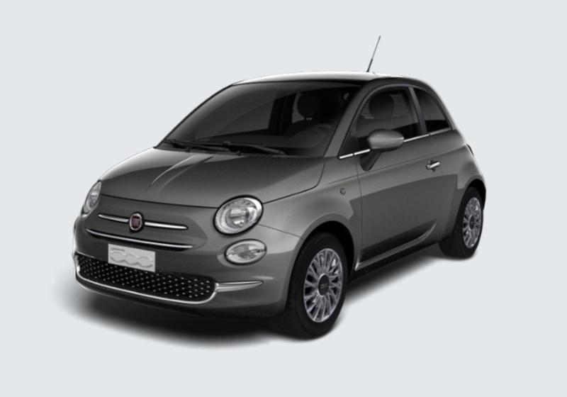 FIAT 500 1.3 Multijet 95 CV Lounge Grigio Pompei Km 0 ALU0ULA-26048_esterno_lato_1