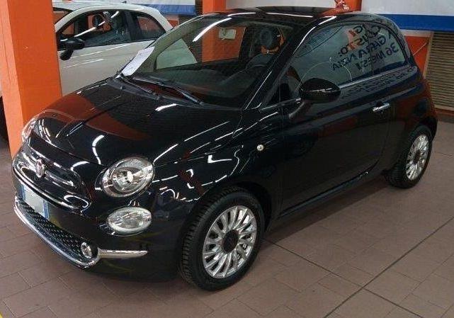 FIAT 500 1.3 Multijet 95 CV Lounge Nero Vesuvio Usato Garantito WB0BGBW-a