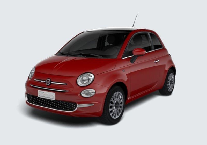 FIAT 500 1.3 Multijet 95 CV Lounge Rosso Passione Km 0 B2X0X2B-29793_esterno_lato_1