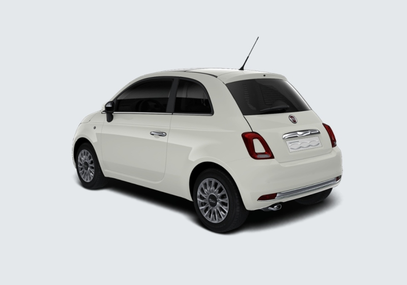 FIAT 500 1.2 Lounge MY 19 Bianco Gelato Km 0 0EL6Y-b