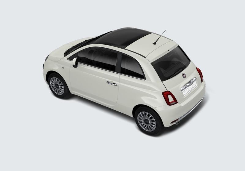 FIAT 500 1.2 Lounge MY 19 Bianco Gelato Km 0 0EL6Y-d