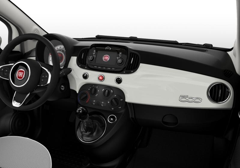 FIAT 500 1.2 Lounge MY 19 Bianco Gelato Km 0 0EL6Y-e