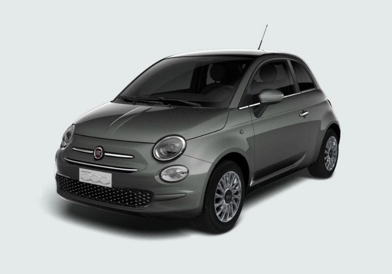 FIAT 500 1.2 Lounge 69cv Grigio Colosseo Km 0 BTQHS-a
