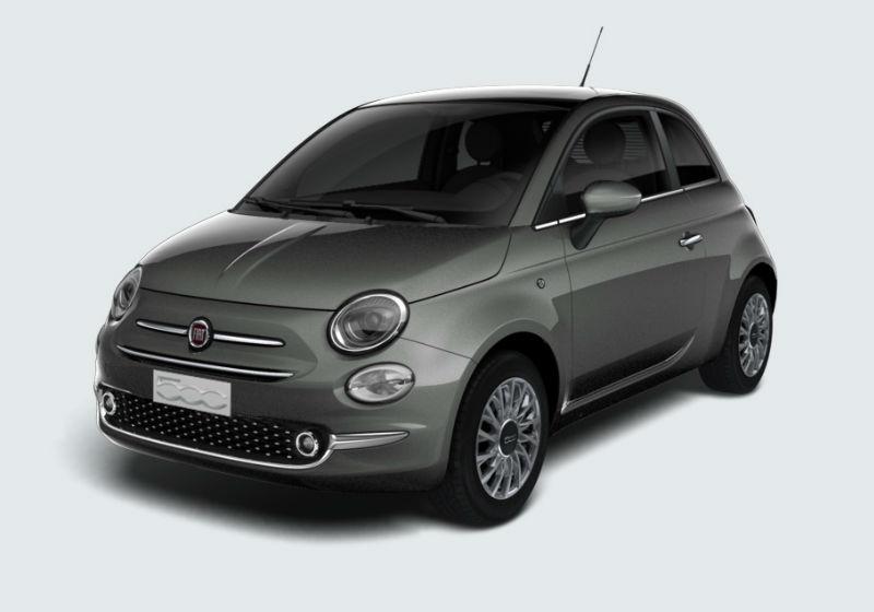 FIAT 500 1.2 Lounge 69cv Grigio Colosseo Km 0 CKNJW-a