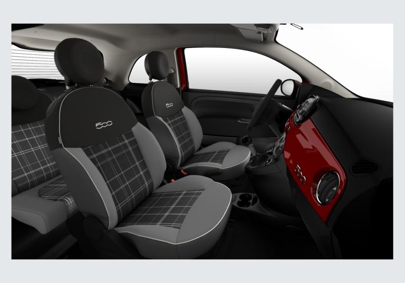 FIAT 500 1.2 Lounge MY 19 Rosso Passione Km 0 61SU5-f