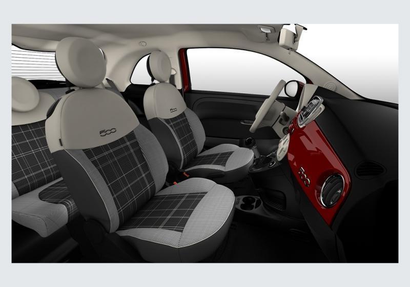 FIAT 500 1.3 Multijet 95 CV Lounge Rosso Passione Km 0 7T49T-f