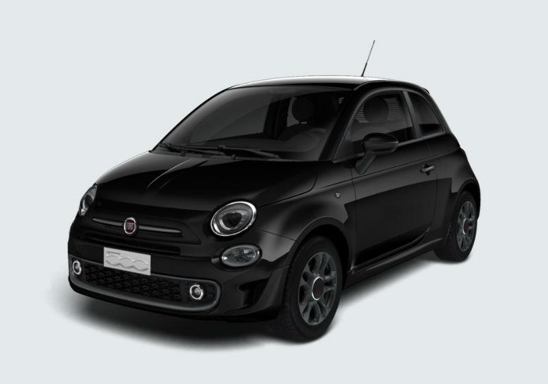 FIAT 500 1.2 S MY 19 Nero Vesuvio Km 0 0F9A9-a1