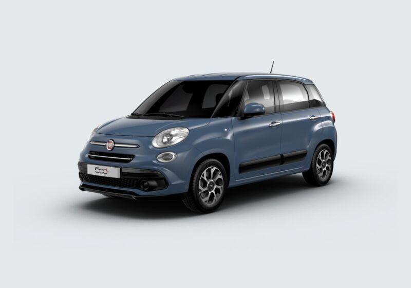 FIAT 500L 1.3 mjt Mirror 95cv dualogic my20 Blu Bellagio Km 0 FA0BYAF-63495_esterno_lato_1