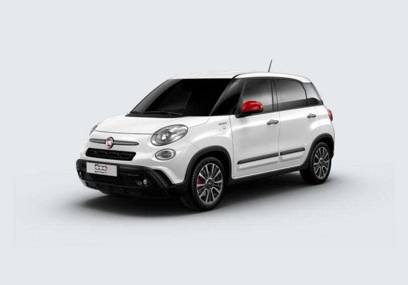 FIAT 500L 1.3 mjt Sport 95cv Bianco Gelato Km 0 QW0BUWQ-59284_esterno_lato_1