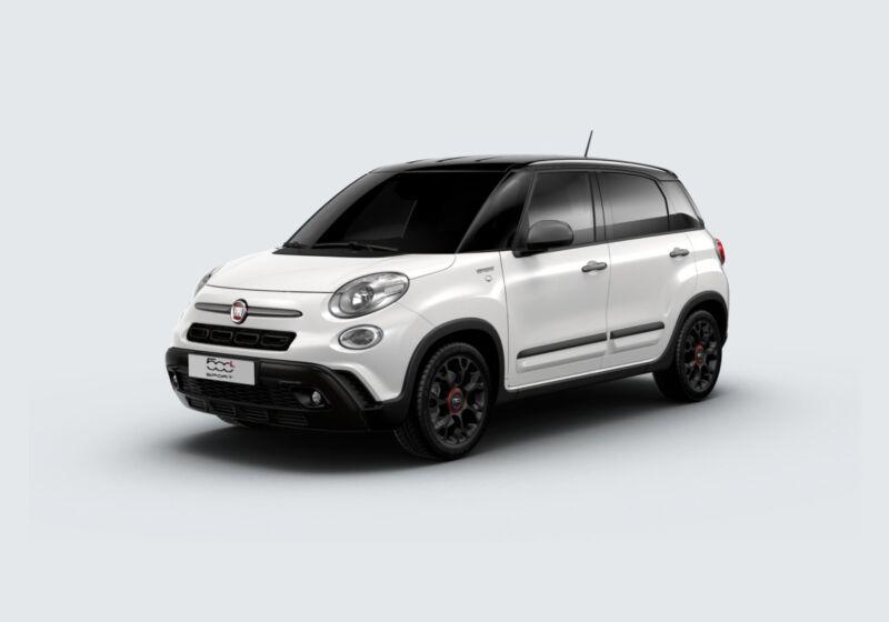 FIAT 500L 1.3 mjt Sport 95cv Bianco Gelato Km 0 R60BV6R-60949_esterno_lato_1