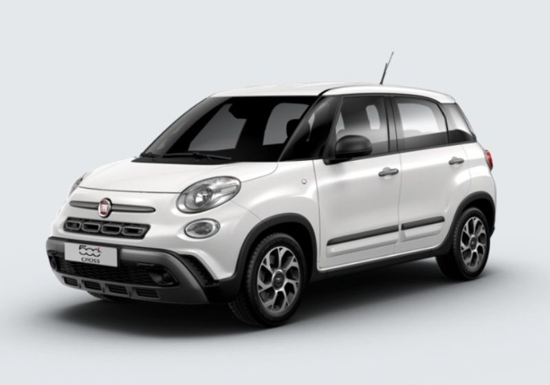 FIAT 500L 1.3 Multijet 95 CV City Cross Bianco Gelato Km 0 3WY0YW3-31622_esterno_lato_1