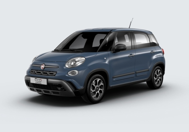 FIAT 500L 1.3 Multijet 95 CV City Cross Blu Bellagio Km 0 25U0U52-26019_esterno_lato_1