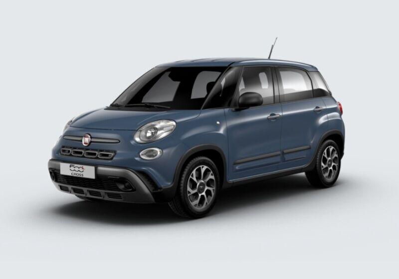 FIAT 500L 1.3 Multijet 95 CV City Cross Blu Bellagio Km 0 B5U0U5B-26017_esterno_lato_1