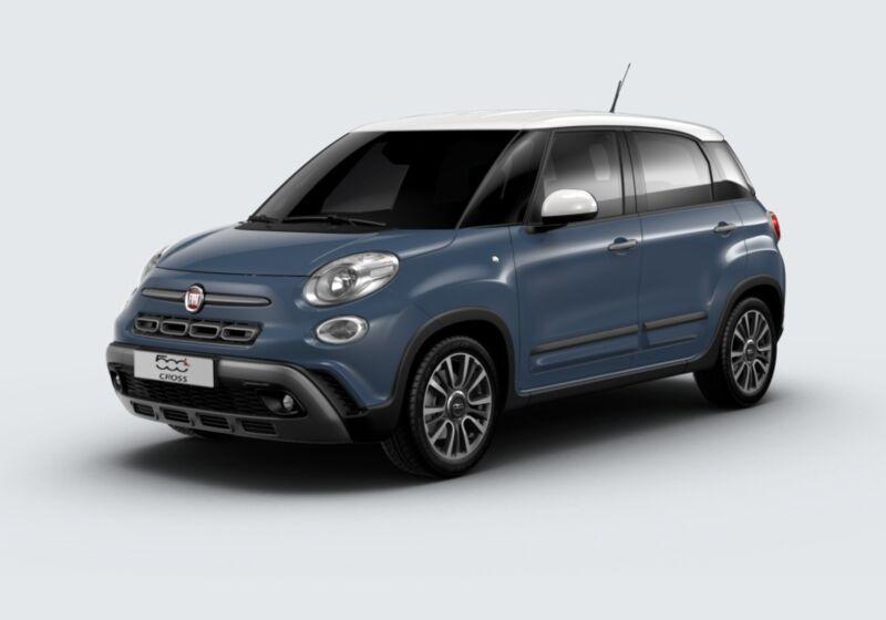 FIAT 500L 1.3 Multijet 95 CV Cross Blu Bellagio Km 0 V30B43V-43227_esterno_lato_1