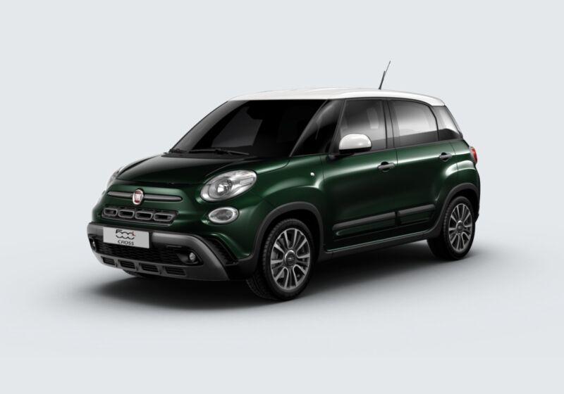 FIAT 500L 1.3 Multijet 95 CV Cross Verde Toscana Km 0 CH0BPHC-51490_esterno_lato_1