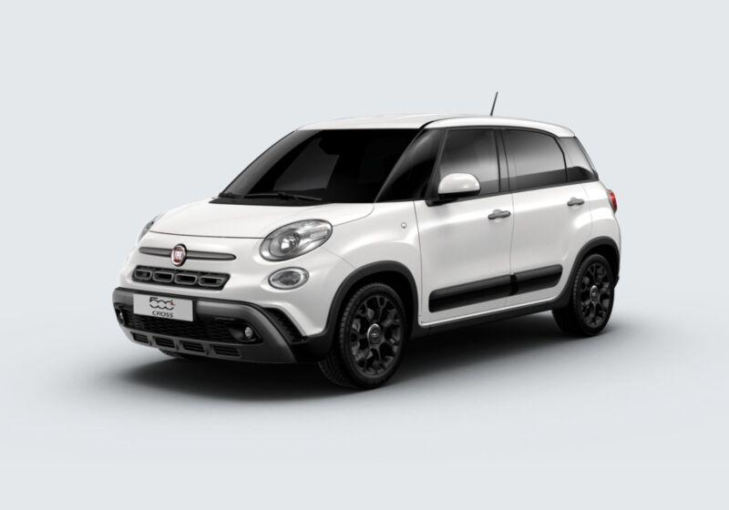 FIAT 500L 1.3 Multijet 95 CV Dualogic Cross Bianco Gelato Km 0 690BL96-47952_esterno_lato_1