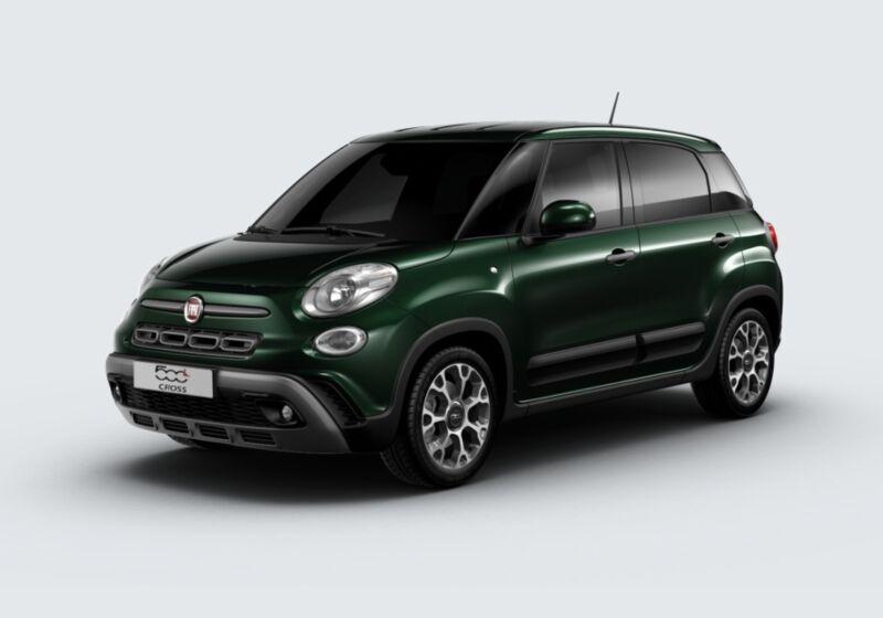 FIAT 500L 1.3 Multijet 95 CV Dualogic Cross Verde Toscana Km 0 GW0BLWG-48008_esterno_lato_1