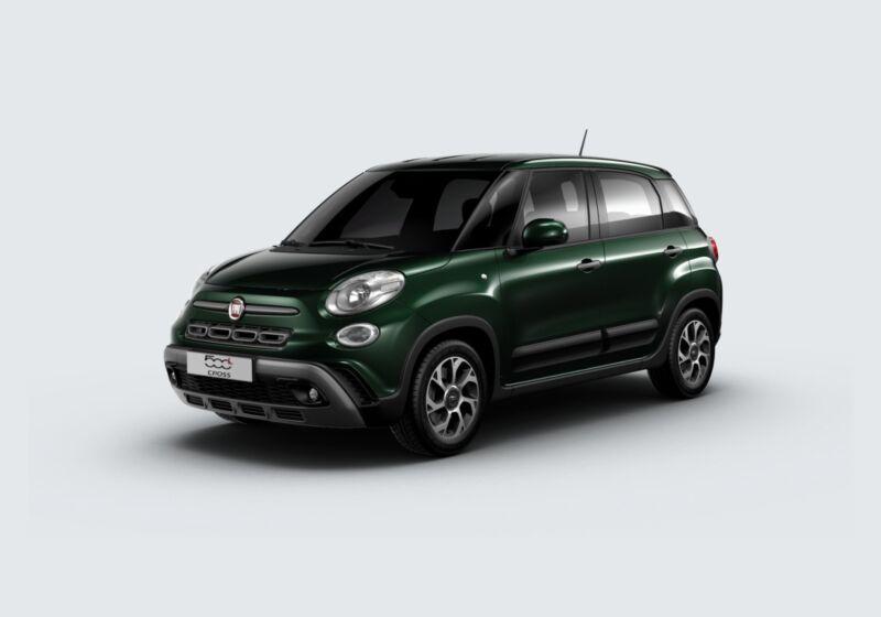 FIAT 500L 1.3 Multijet 95 CV Dualogic Cross Verde Toscana Km 0 XV0C2VX-69501_esterno_lato_1