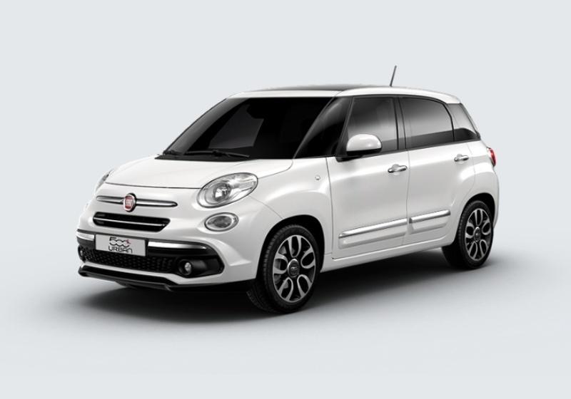 FIAT 500L 1.3 Multijet 95 CV Lounge Bianco Gelato Km 0 0000VNY-24742_esterno_lato_1
