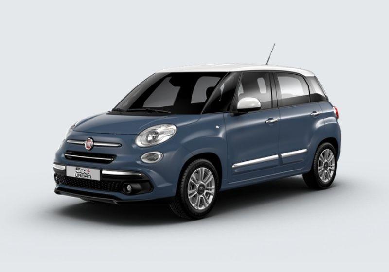 FIAT 500L 1.3 Multijet 95 CV Pop Star Blu Bellagio/Tetto Bianco Km 0 5W0B4W5-29842_esterno_lato_1