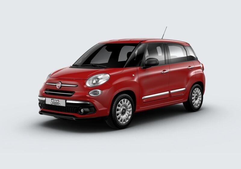 FIAT 500L 1.3 Multijet 95 CV Urban Rosso Passione Km 0 JU0BNUJ-50987_esterno_lato_1