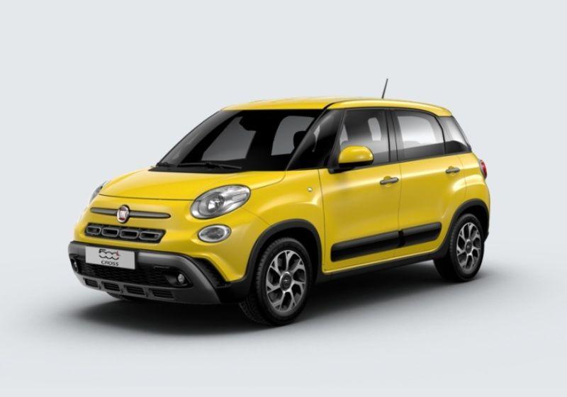 FIAT 500L 1.4 95 CV S&S Cross my 20 Giallo Sorrento Km 0 6L0B3L6-39376_esterno_lato_1