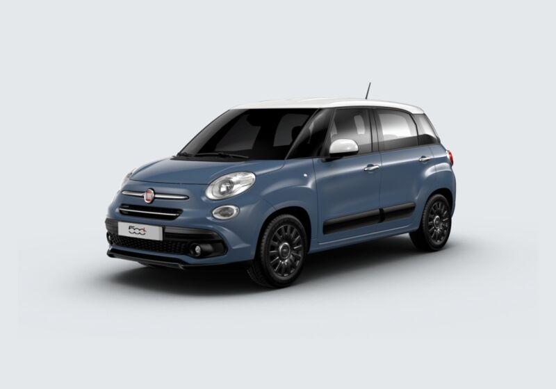FIAT 500L 1.4 Mirror 95cv Blu Bellagio Km 0 9M0CDM9-70138_esterno_lato_1