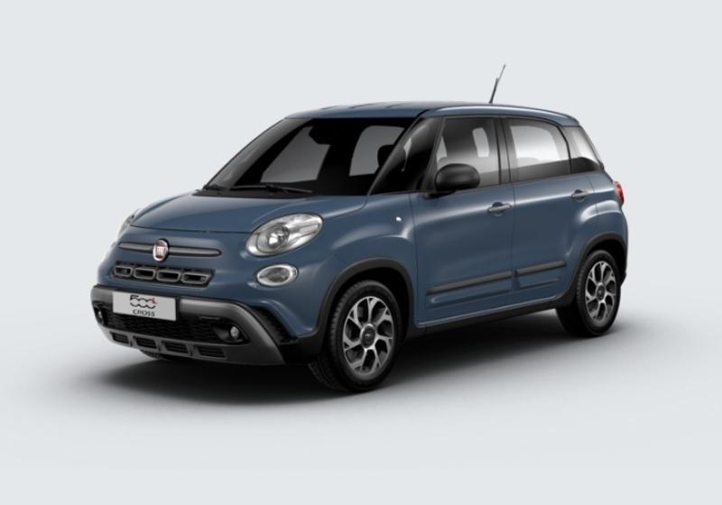FIAT 500L 1.6 Multijet 120 CV City Cross Blu Bellagio Km 0 0000U8I-24216_esterno_lato_1