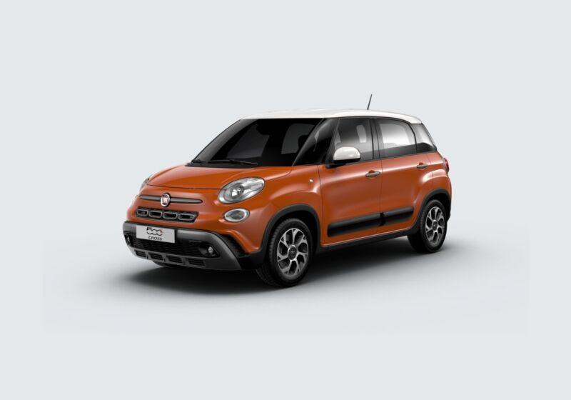 FIAT 500L Cross 1.6 mjt 120cv Arancio Sicilia Km 0 QY0B8YQ-57300_esterno_lato_1