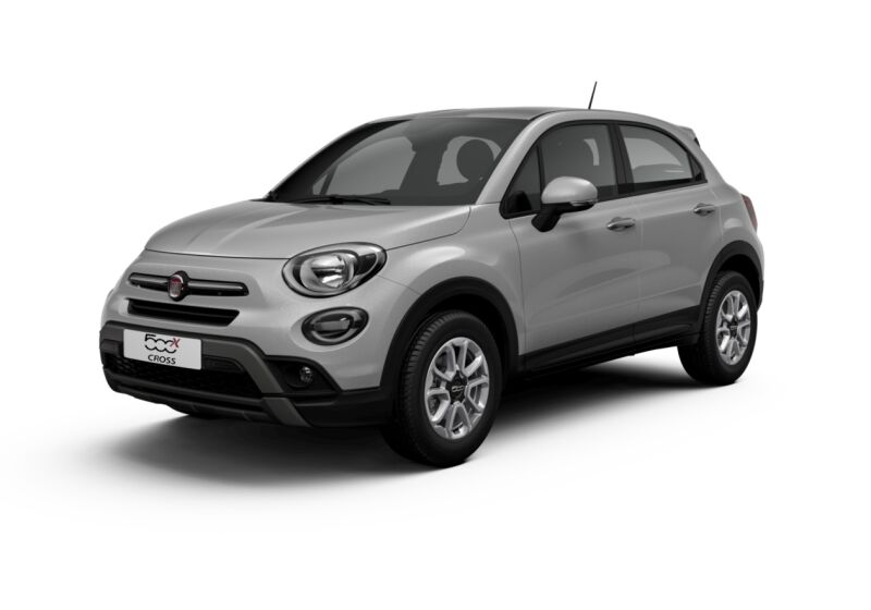 FIAT 500X 1.0 T3 120 CV City Cross Grigio Argento Km 0 S20B62S-getimage-v1