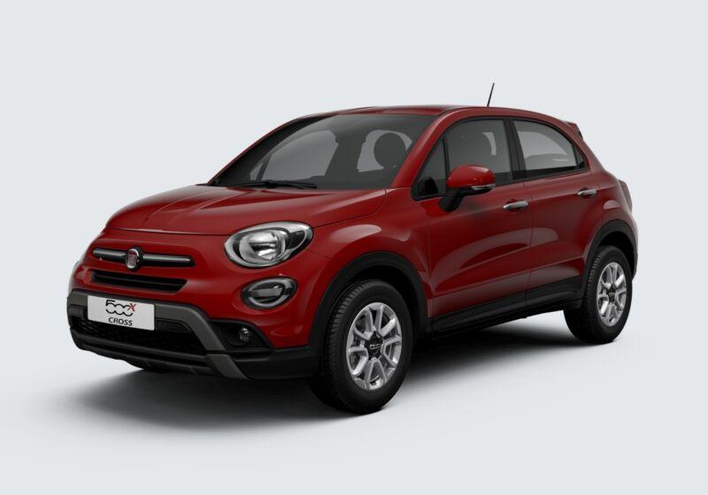 FIAT 500X 1.0 T3 120 CV City Cross Rosso Passione Km 0 670B576-46704_esterno_lato_1