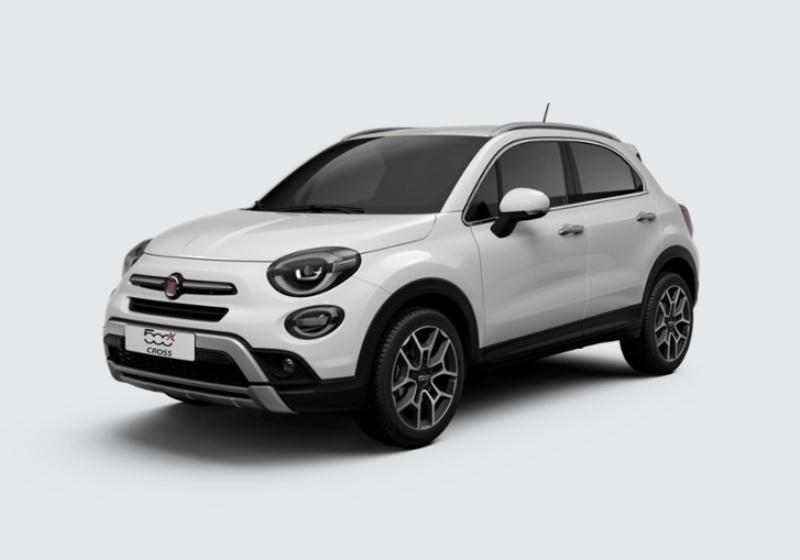 FIAT 500X 1.0 T3 120 CV Cross Bianco Gelato Km 0 3NV0VN3-28198_esterno_lato_1
