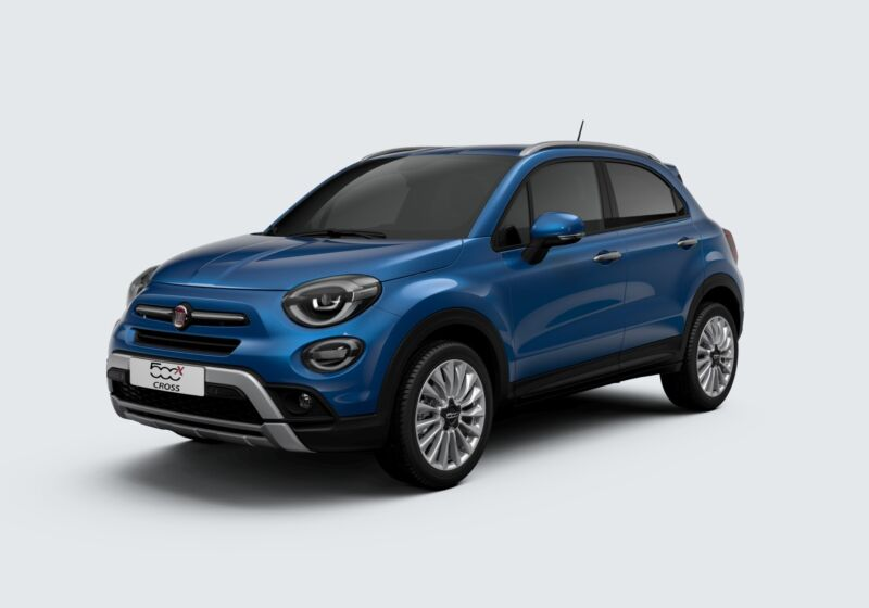 FIAT 500X 1.0 T3 120 CV Cross Blu Italia Km 0 6H0B5H6-46384_esterno_lato_1