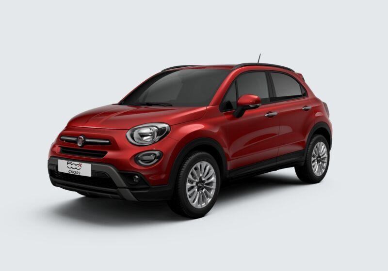 FIAT 500X 1.0 T3 120 CV Cross Rosso Amore Km 0 A20BU2A-58464_esterno_lato_1