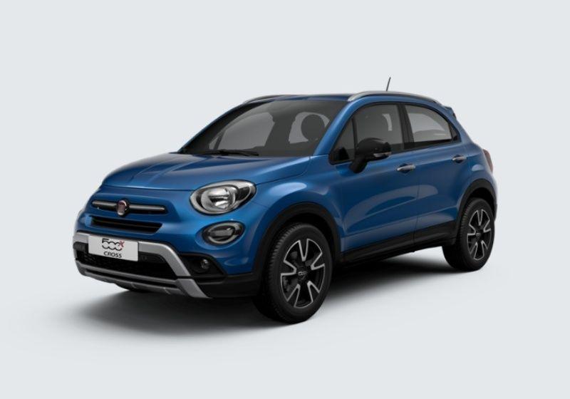 FIAT 500X 1.0 T3 120 CV Mirror Cross Blu Italia Km 0 5V0BDV5-37741_esterno_lato_1