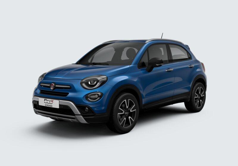 FIAT 500X 1.0 T3 120 CV Mirror Cross Blu Italia Km 0 L20BU2L-58478_esterno_lato_1