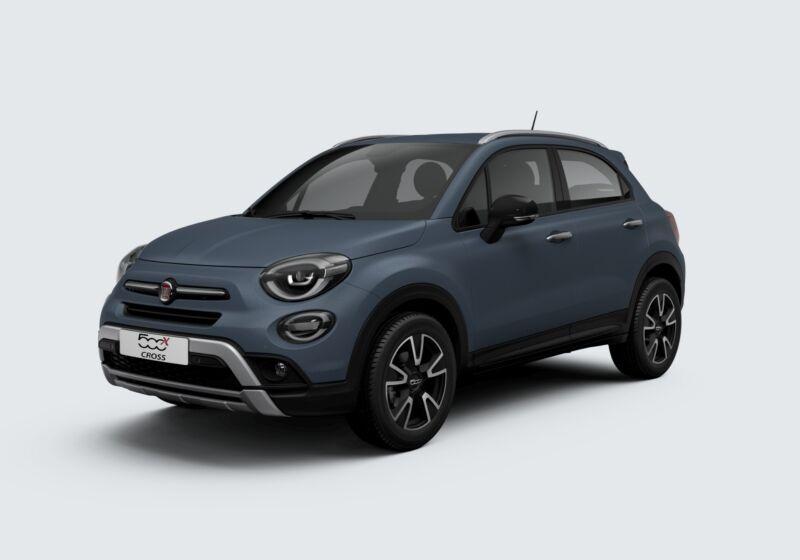 FIAT 500X 1.0 T3 120 CV Mirror Cross Blu Jeans Km 0 R50BR5R-54709_esterno_lato_1