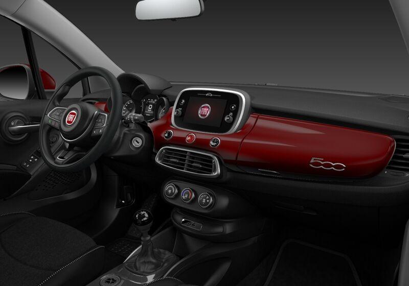 FIAT 500X 1.0 T3 120 CV Urban Rosso Passione Km 0 U70CF7U-73337_interno_lato_5