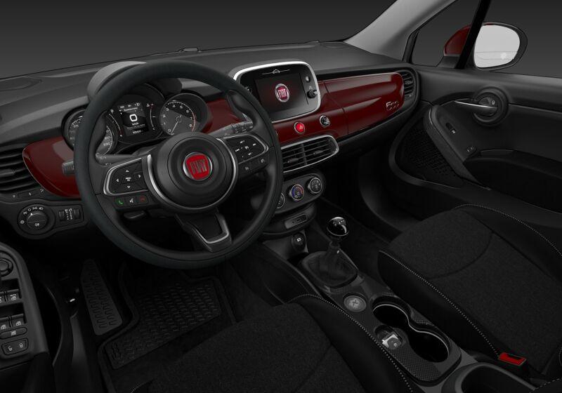 FIAT 500X 1.0 T3 120 CV Urban Rosso Passione Km 0 U70CF7U-73337_interno_lato_6