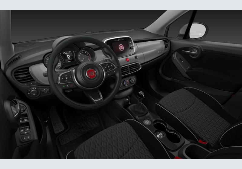 FIAT 500X 1.3 MultiJet 95 CV City Cross Grigio Argento Da immatricolare HW909WH-f