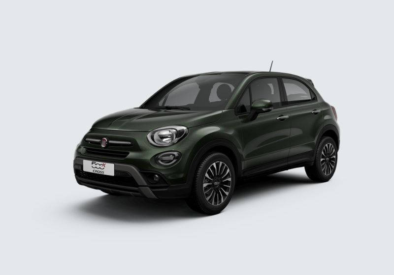 FIAT 500X 1.3 MultiJet 95 CV City Cross Verde Technogreen Km 0 SE0B3ES-39094_esterno_lato_1