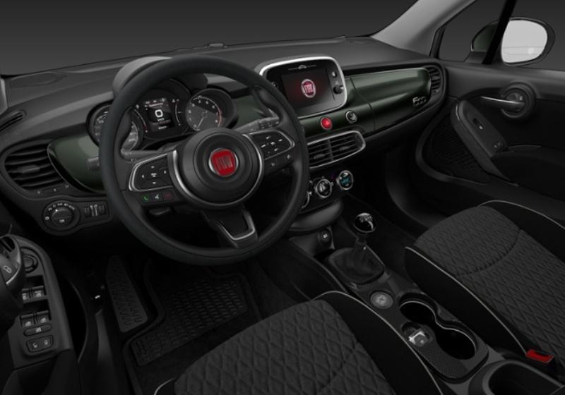FIAT 500X 1.3 MultiJet 95 CV City Cross Verde Technogreen Da immatricolare SV909VS-27510_interno_lato_6