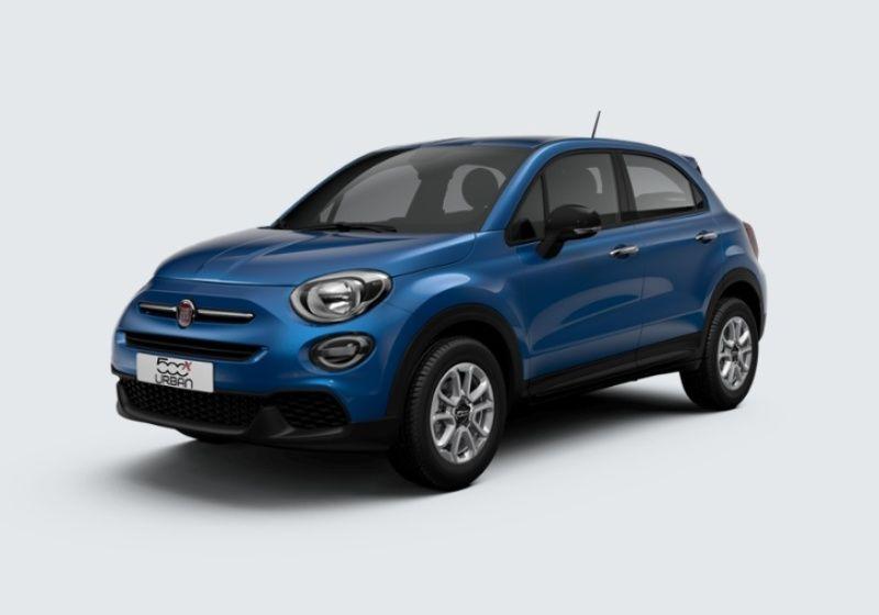 FIAT 500X 1.3 MultiJet 95 CV Urban Blu Italia Km 0 3V0BDV3-37734_esterno_lato_1