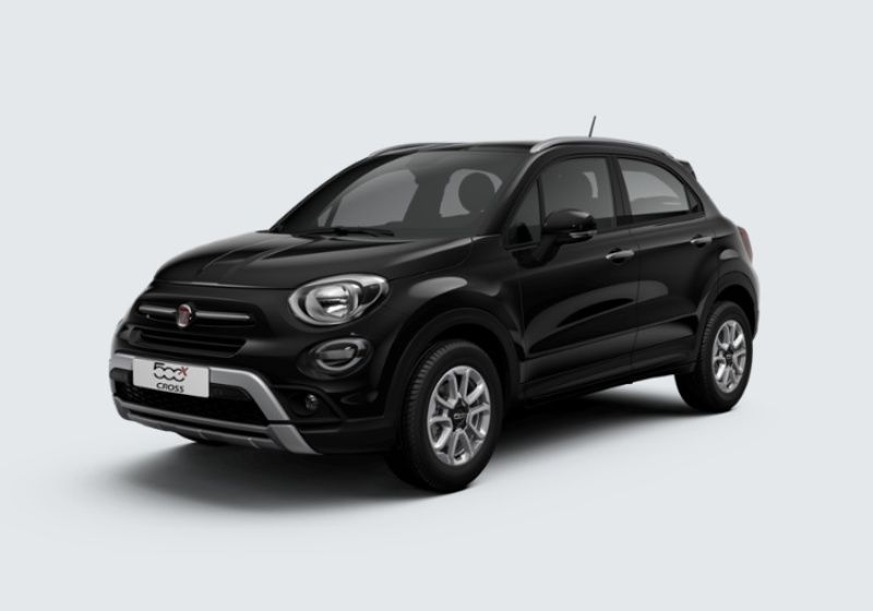 FIAT 500X 1.3 T4 150 CV DCT City Cross Nero Cinema Km 0 B30BA3B-32961_esterno_lato_1