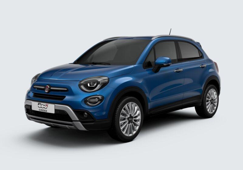 FIAT 500X 1.3 T4 150 CV DCT Cross Blu Italia Km 0 7L0BUL7-58835_esterno_lato_1