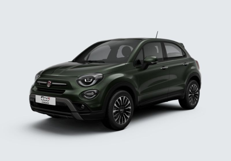 FIAT 500X 1.6 E-Torq 110 CV City Cross Verde Technogreen Km 0 5R0BAR5-33453_esterno_lato_1