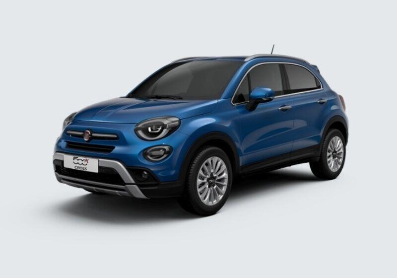 FIAT 500X 1.6 E-Torq 110 CV Cross Blu Italia Km 0 VU0BDUV-37691_esterno_lato_1-v1